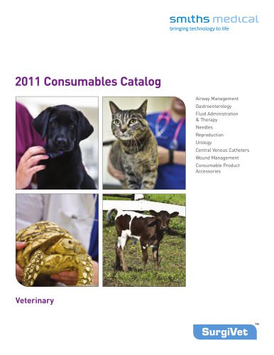 Consumables Catalog