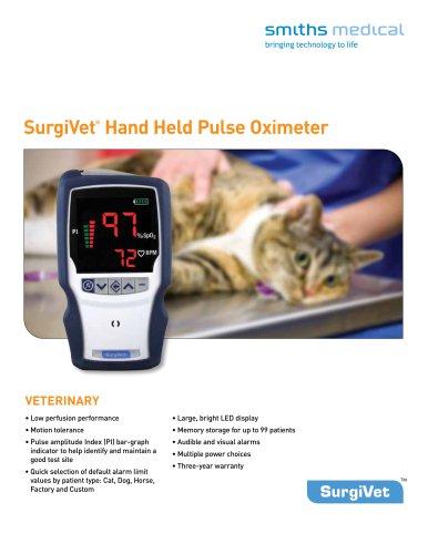 SurgiVet®  Hand Held Pulse Oximeter