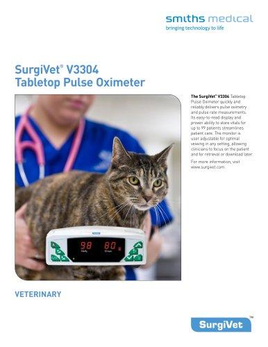 SurgiVet®  V3304 Tabletop Pulse Oximeter