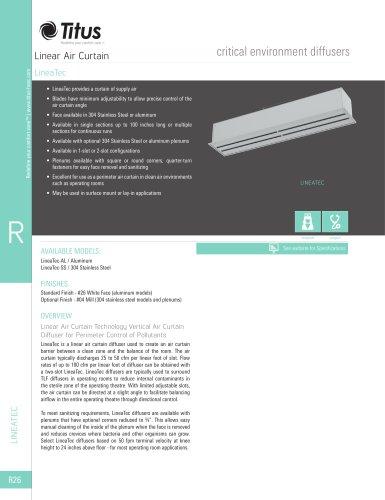 LineaTec Linear Air Curtain