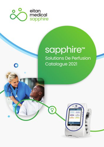Solutions De Perfusion Catalogue 2021