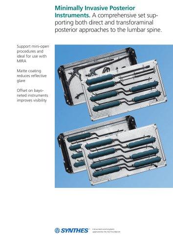 Minimally Invasive Posterior Instruments.