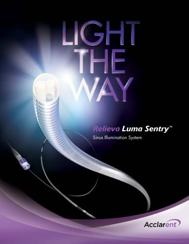 Relieva Luma Sentry? Sinus Illumination System & Accessories
