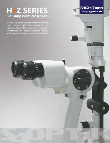 SL-Z5 Slit Lamp