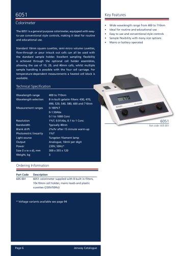 Colorimeter Accessories