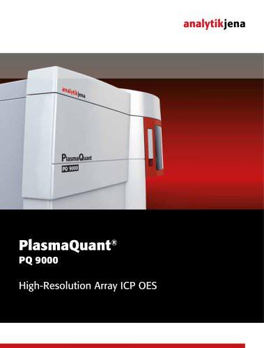 Brochure PlasmaQuant PQ 9000