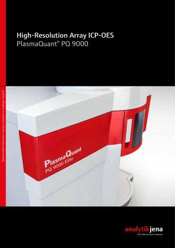 High-Resolution Array ICP-OES PlasmaQuant® PQ 9000