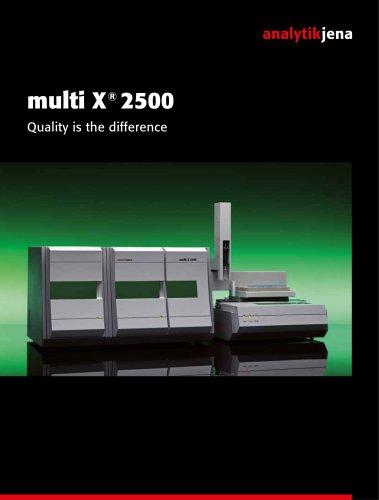 multi X 2500