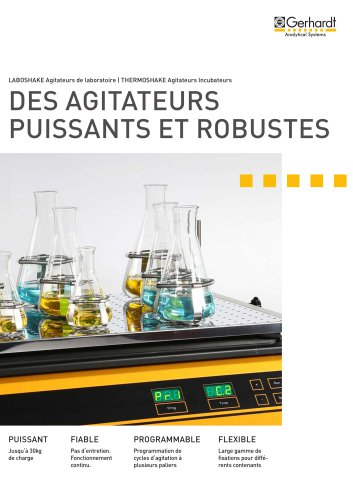 AGITATEUR ROBUSTE DE LABORATOIRE