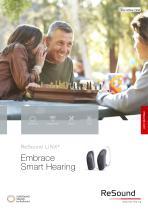 ReSound LiNX2 Embrace  Smart Hearing