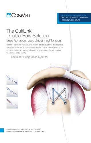 CuffLink™ Double-Row Solution Procedure
