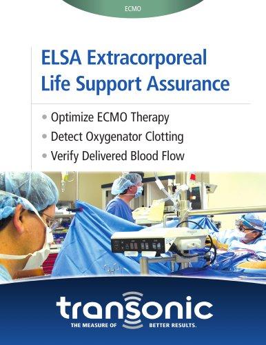 ELSA Extracorporeal Life Support Assurance