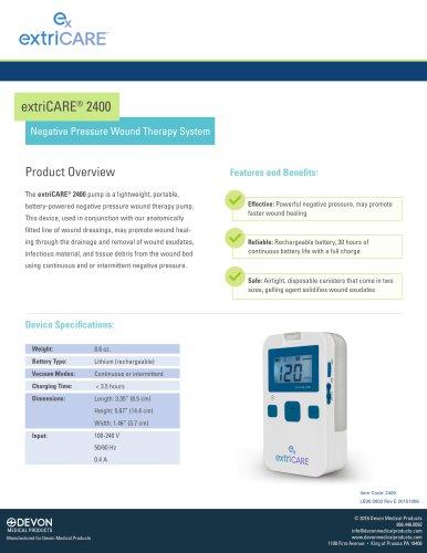 extriCARE® 2400 Pump