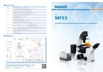 Mshot MF53 reaserch inverted fluorescence microscope