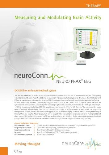 NeuroCare NeuroConn NEURO PRAX EEG