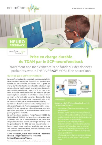 Prise en charge durable du TDAH par le SCP-neurofeedback