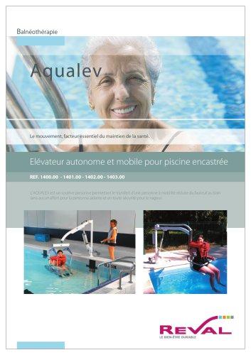 AQUA-LEVE - Élévateur autonome et mobile pour piscine encastrée