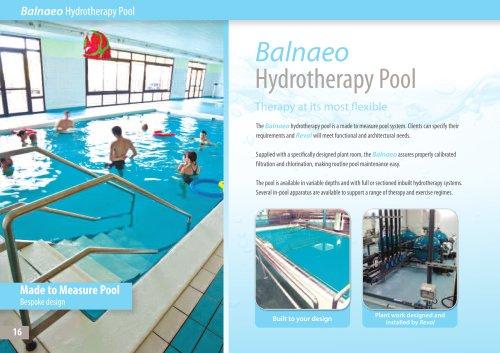 Balnaeo Hydrotherapy Pool