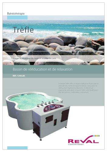 Bassin Trèfle - Bassin de rééducation et de relaxation