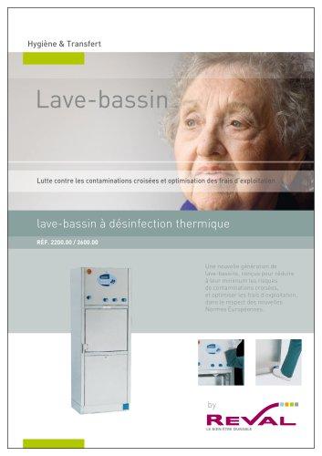 lave-bassin à désinfection thermique