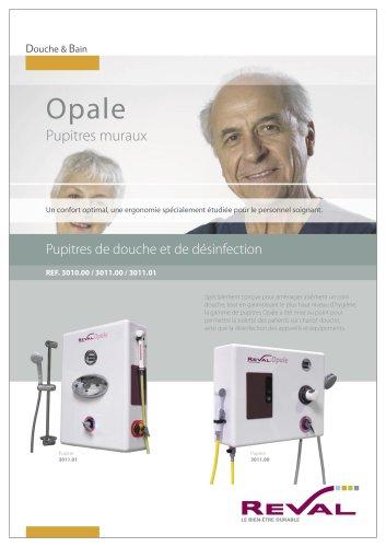 OPALE 3011 - Pupitre de douche et de désinfection