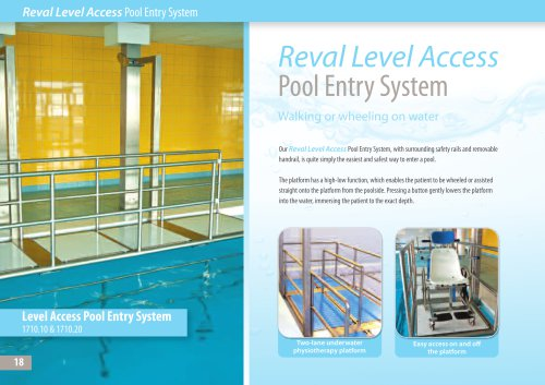 Reval Level Access Pool Entry System