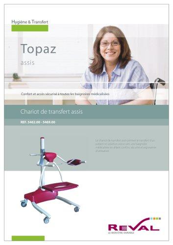 TOPAZ - Chariot de transfert assis
