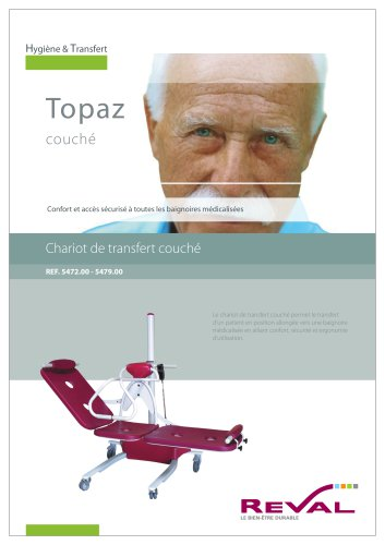TOPAZ - Chariot de transfert couché