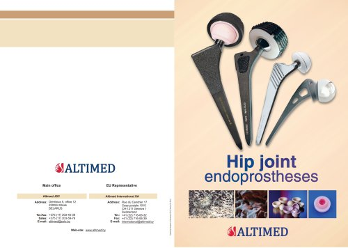 Hip Joint Endoprostheses