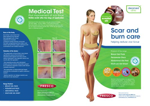 Scar and Burn Pads