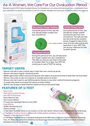 U-TEST saliva ovulation device for smartphone: DM