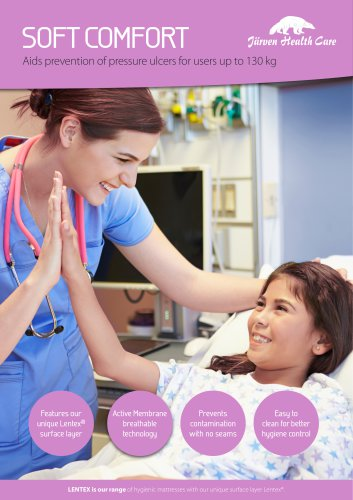 Soft Comfort - Hygiene Mattress with Lentex®