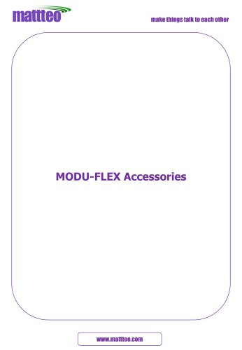 MODU-FLEX Accessories