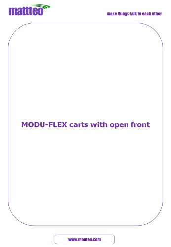 MODU-FLEX with Open Front
