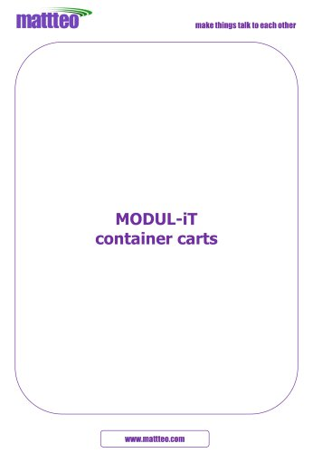 MODUL-iT container carts