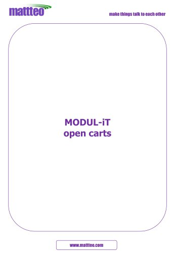 MODUL-iT open carts