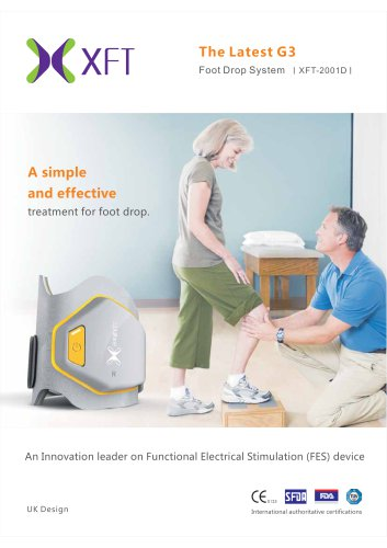 The Latest G3 Foot Drop System I XFT-2001D