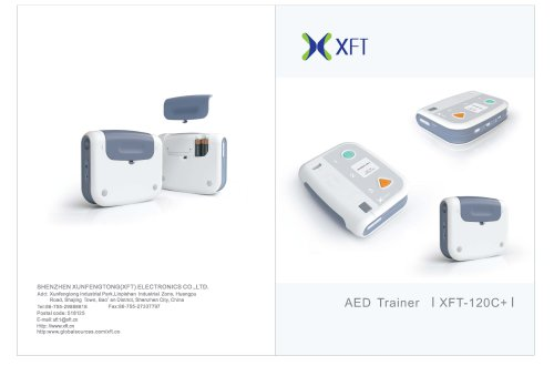 XFT-120C+ Automatic External Defibrillator Trainer