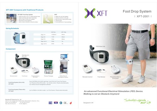 XFT-2001 Foot Drop System