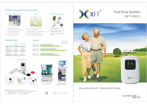 XFT-2001 Foot Drop System catalogue