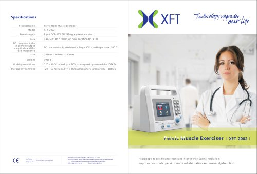XFT-2002 Pelvic Muscle Exerciser