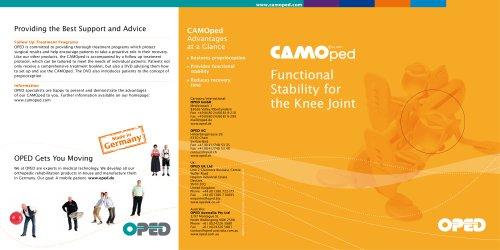 Brochure CAMO®ped