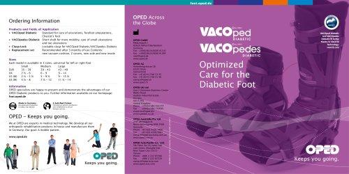 Brochure Foot Range Diabetic