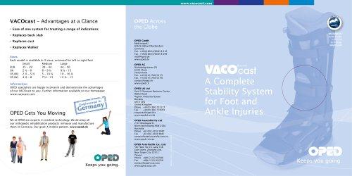 Brochure VACO®cast