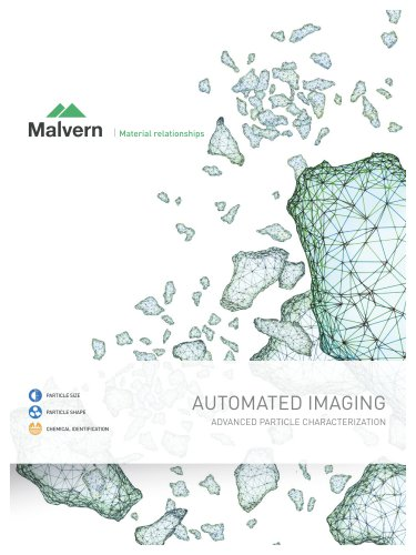 Automated Imaging - Advanced Particle Characterization