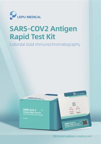 LEPU SARS-CoV-2 Antigen Rapid Test Kit brochure