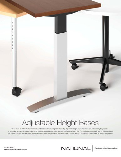Adjustable Height Bases