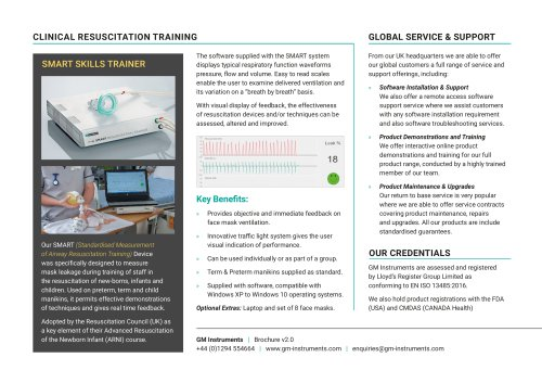 GM Instruments Product Brochure