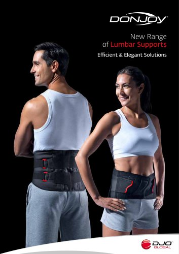 New Range of Lumbar Supports