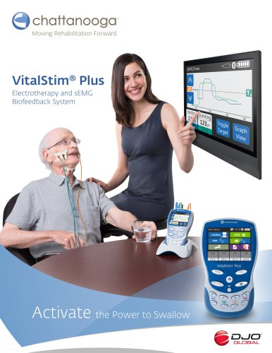 VitalStim® Plus Activate the Power to Swallow